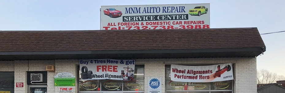 MNM Auto Repair  - Complete Automotive Repair . Tires . NJ Inspection:  732-738-3988, 834 King Georges Road, Fords, NJ 08863